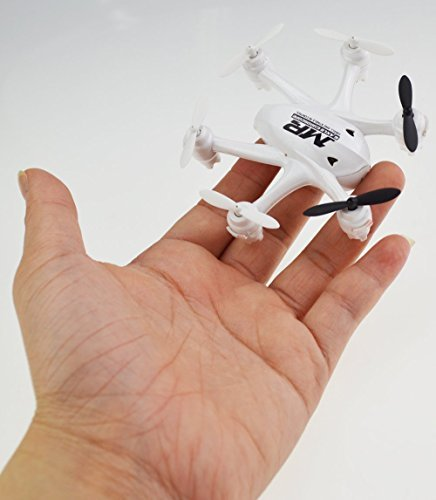 NiGHT LiONS TECH® X800S 6 Axis Gyro Headless 2.4G Mini RC Pocket Drone Quadcopter With 3D Roll Auto Return(White)