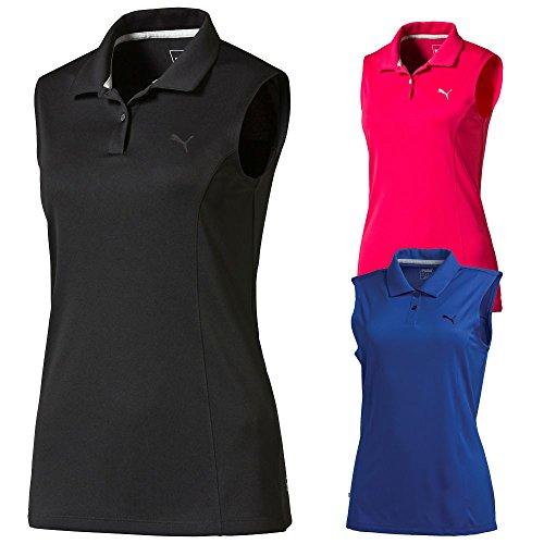 PUMA Golf 2017 Women's Pounce Sleeveless Polo – DiZiSports Store
