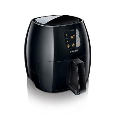 Philips Digital Airfryer, X-Large, the original Airfryer with Rapid Air Technology,  Black, HD9240/94