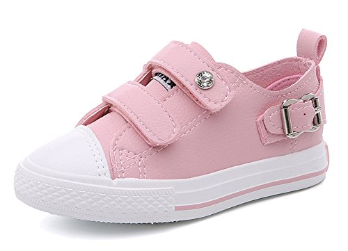 iDuoDuo Kids Candy Color Casual Waterproof Flat Loafers Toddler//Little Kid