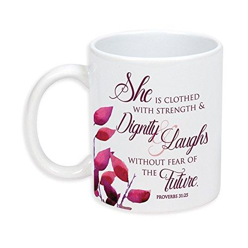 (Proverbs 31 Woman 11 Ounce Ceramic Stoneware Coffee Mug)