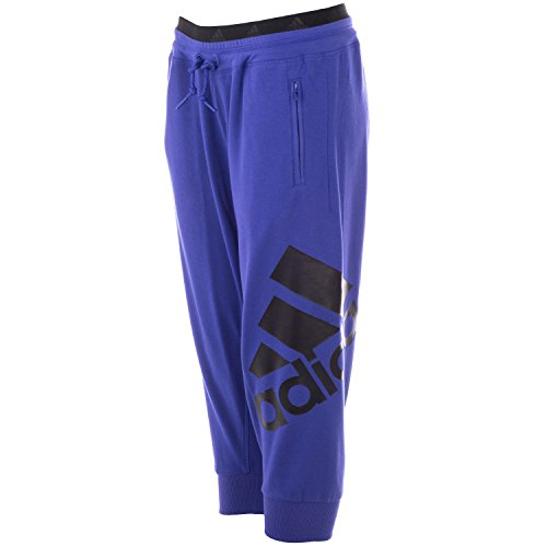 Pantalon 3/4 adidas Sport Essentials � logo pour dame en violet