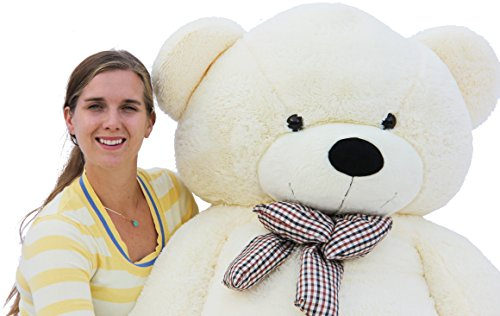 Joyfay Giant Teddy Bear 78''(6.5 Feet) White by Joyfay (Image #4)