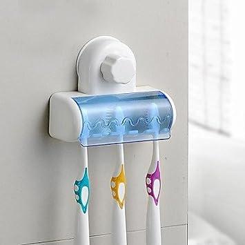 Accesorios de baño QMM, Sujetador del Cepillo de Dientes Contemporáneo - Montura de Pared: Amazon.es: Hogar