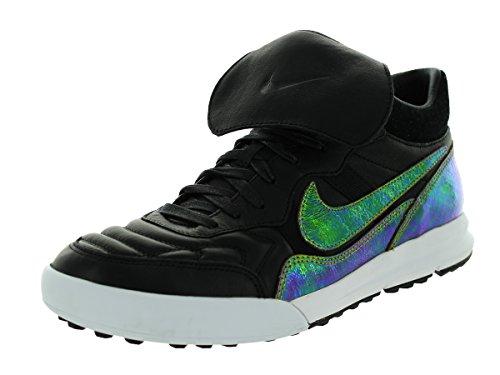 Nike Mens Nsw Tiemp 94 Lunar Mid Tp Qs Scarpa Da Calcio Per Interni Nero / Bronzo / Scuro Citron / Bianco