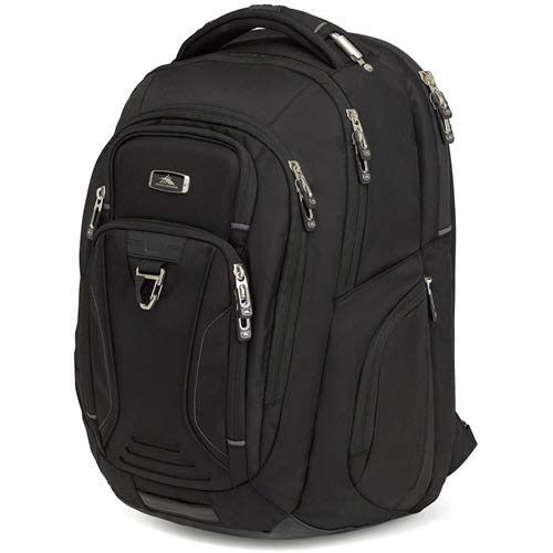 High Sierra Endeavor Business Elite Backpack - 17-inch Laptop Backpack for Business Professionals - Ideal for High School and College Students