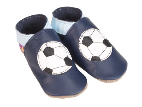 Chaussons Foot Navy 18-24 Mois