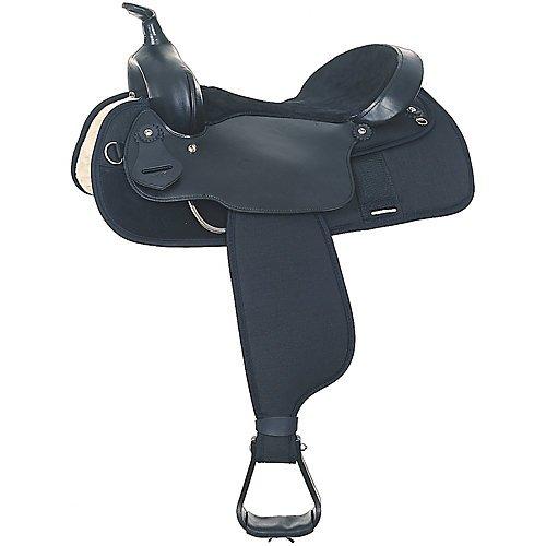 Fabtron Lightweight Trail Saddle Black