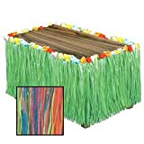 Beistle Grass Table Skirting, 30-Inch by 9-Inch