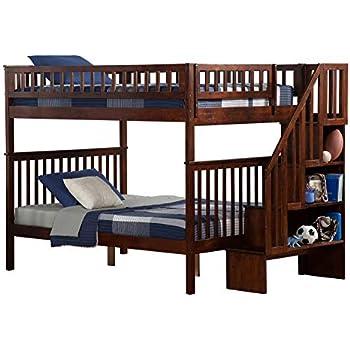 Amazon Com Atlantic Furniture Ab56804 Woodland Staircase