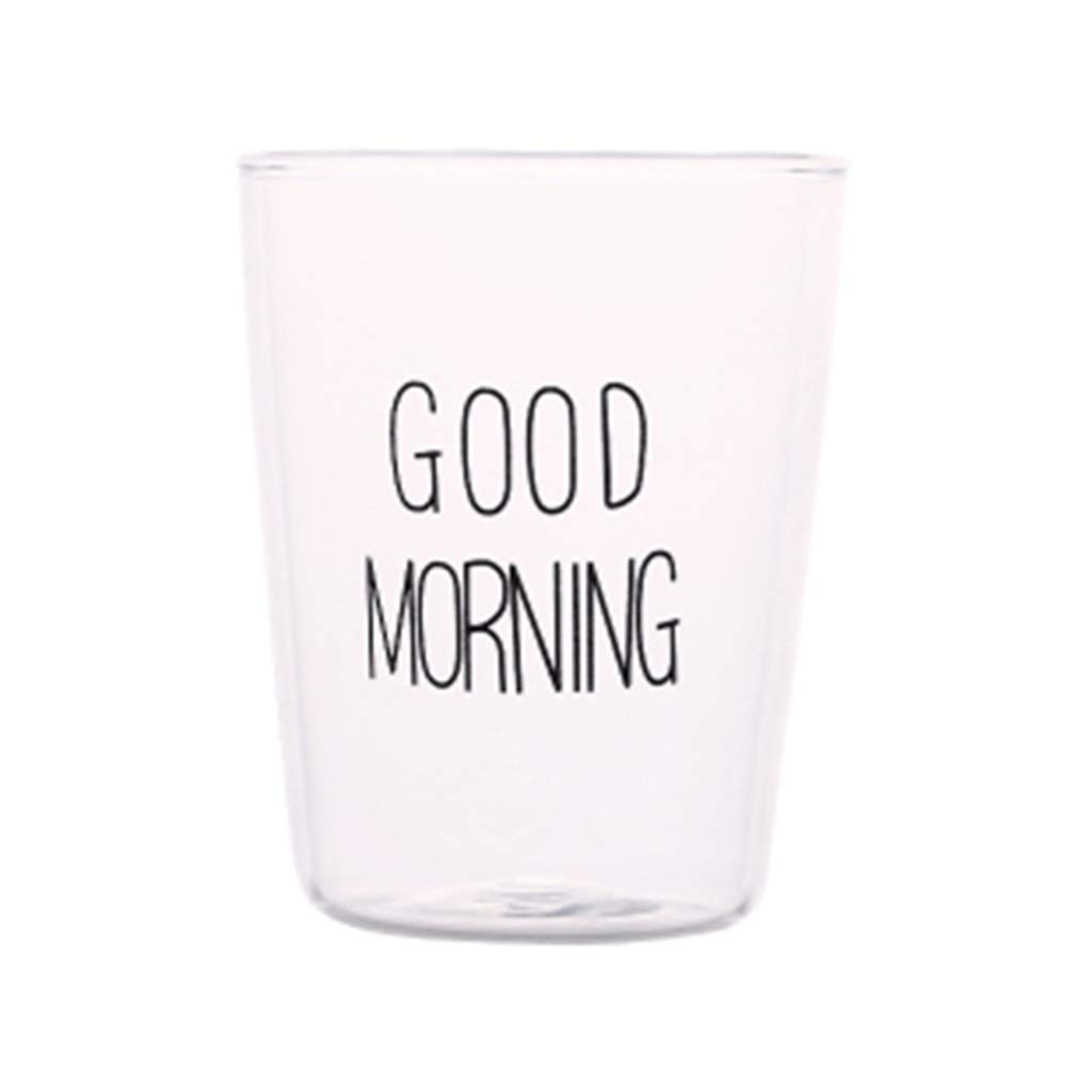 Yunyisujaio Bicchiere di Cristallo Bicchiere Bicchiere di Vetro Creativo Trasparente Bicchiere per Colazione Bicchiere per Bevande Tazza Bicchiere per Bevande Bicchiere per caffè Resistente al Calore Prezzi