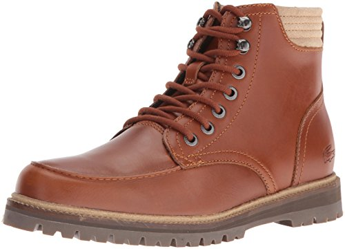 Lacoste Mens Hook - Lacoste Men's Montbard 416 1 Cam Fashion Sneaker Boot, Tan, 10.5 M US