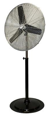 MaxxAir HVPF30 30-Inch OSC Heavy Duty Oscillating Pedestal 3-Speed Fan