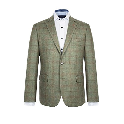 [ポールコステロ] メンズ ジャケット&ブルゾン Ward Checked Wool Jacket [並行輸入品] B07F34HGLM 38 Regular