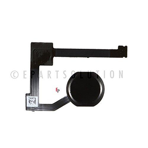 Sensor Flex (ePartSolution_iPad Mini 4 A1538 A1550 Home Button Module Flex Cable Fingerprint Sensor Flex Menu Key Black Replacement Part USA Seller)