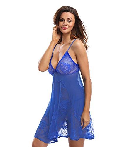 NINGMI Womens Lingerie Babydoll Sleepwear product image