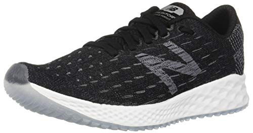 New Balance Women's Zante Pursuit V1 Fresh Foam Running Shoe, Black/Castlerock/White, 8.5 W US