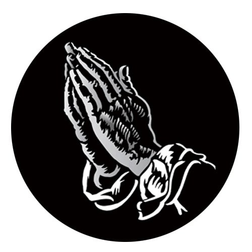 Praying Hands - Super Resolution Gobo