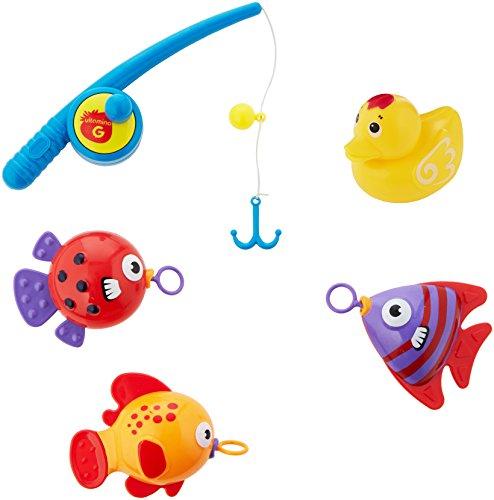 Globo 05172 Vitamina G Game Rod/3 Fish, Multi-Color ()