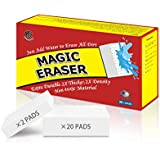 (20+2 Pack) Magic Eraser HUNTINGOOD Original cleaning sponge-super Durable,super Thick & 2X Density Cleaning pads,Odorless,high polymer clean magic eraser (20 ct)