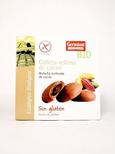 Galletas Bio Sin Gluten Rellenas de Crema de Cacao, 200 ...