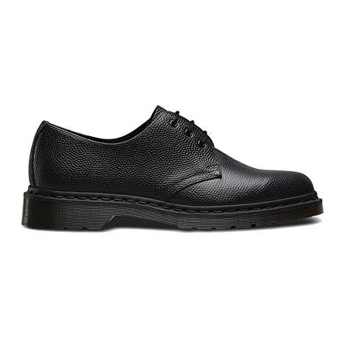 Dr. Martens Men's 1461 3-Eye Shoe Black Pebble 8 UK by Dr. Martens