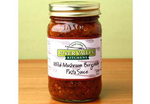 Mushroom Pasta Portabella (Wild Mushroom Burgundy Sauce Gift, 3-Pack of 16 oz. Jars)
