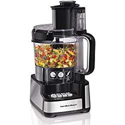 Hamilton Beach 12 Cup Stack and Snap Food Processor Best Value
