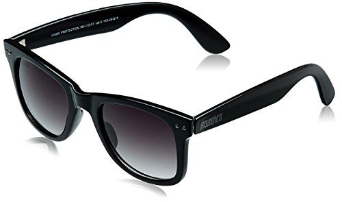 MTV Roadies Wayfarer Sunglass (Black) (RD-112-C1)