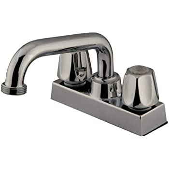 Belanger 3040w Laundry Tub Faucet With 2 Handles Polished