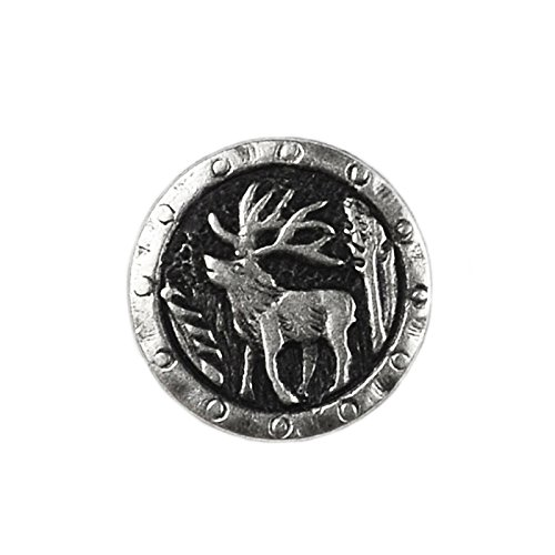 Quality Handcrafts Guaranteed Moose Lapel Pin