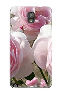 MaritzaKentDiaz Case Cover For Galaxy Note 3 - Retailer Packaging Pink Roses For Everyone Protective Case