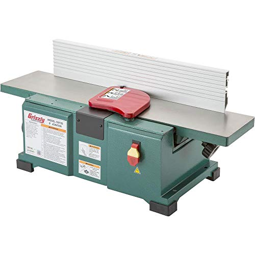 "Grizzly Industrial G0725-6"" x 28"" Benchtop Jointer"