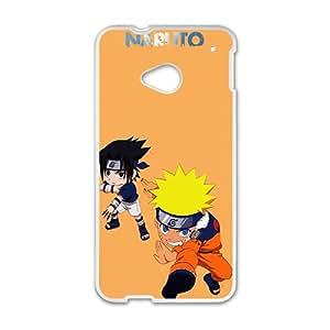 Cute Naruto Anime White HTC M8 case