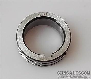 CHNsalescom Rodillo de alimentación del alambre K Groove 0.9-1.0 diámetro 35mm para la máquina de soldadura MIG MAG: Amazon.es: Bricolaje y herramientas