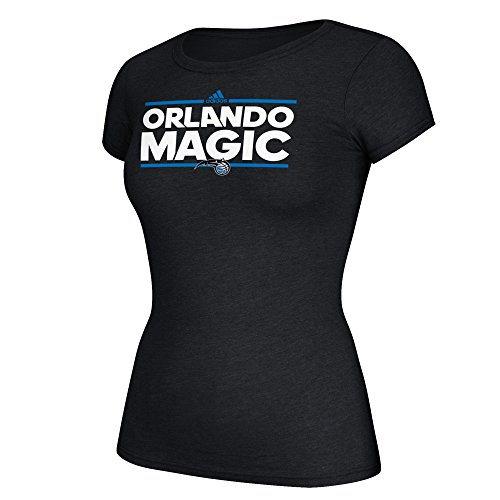 fan products of NBA Orlando Magic Women's Her Dassler Cap Sleeve Tee, Medium, Black