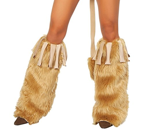 Courageous Costume Lioness (Sexy Women's Courageous Lioness Leg Warmer Costume)