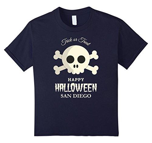 Kids San Diego Trick or Treat Happy Halloween Party T Shirt 12 (Party City San Diego Halloween Costumes)