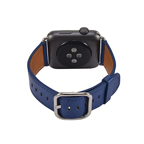 Light Blue Leather Band - 4