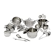 BARAZZONI Cookware Set Mediterranea 24 Pieces Cod. 29292400