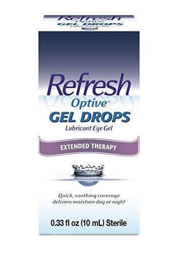 Refresh Optive Gel Drops Lubricant Eye Gel 0.33 oz (Best Gel Eye Drops For Dry Eyes)