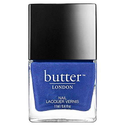 butter LONDON Nail Lacquer, Black & Blue Shades, Giddy Kipper ()