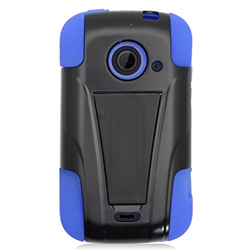 zte prelude blue phone case - 1