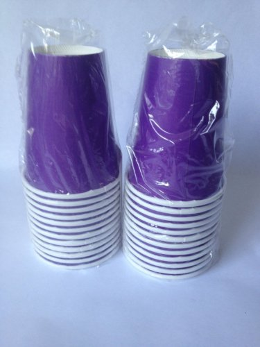 Purple Party Cups (pack of 24)