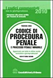 img - for Codice di procedura penale e processo penale minorile book / textbook / text book