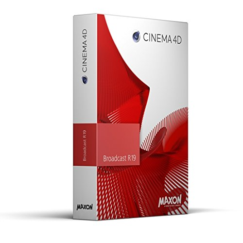 Maxon Cinema 4D Broadcast R18 animation, modeling, sculpting and rendering  software for OS X and Windows