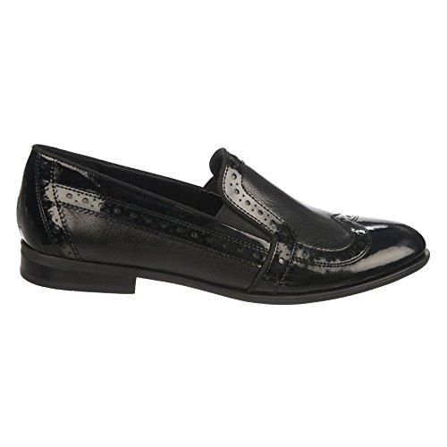 Oxford Women's Sarto Tibby Franco Leather Black wORStt0q