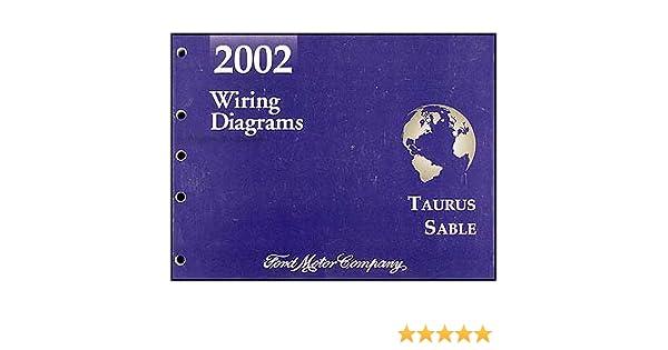 ford taurus mercury sable wiring diagram manual original 2002 ford taurus mercury sable wiring diagram manual original ford com books