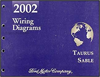 2002 ford taurus & mercury sable wiring diagram manual original paperback –  2002