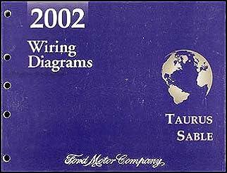 2002 ford taurus \u0026 mercury sable wiring diagram manual original 2005 Ford Taurus Wiring Diagram